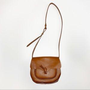 Madewell   Savannah Leather Saddle Bag Crossbody